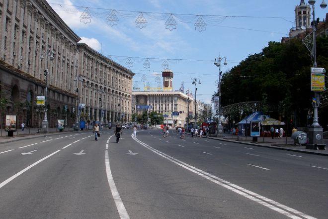 Khreshchatyk, Kiev, Ukraine