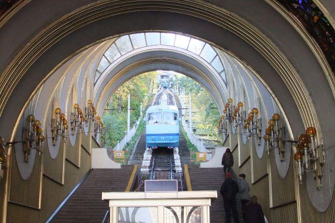 Kiev Funicular, Kiev, Ukraine