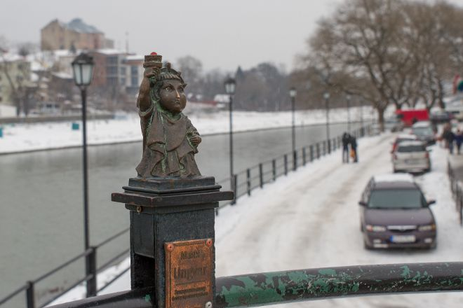 Liberty Mini-sculpture, Uzhhorod, Ukraine