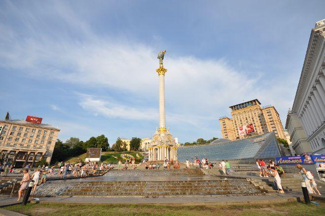 Maidan Nezalezhnosti, Kiev, Ukraine