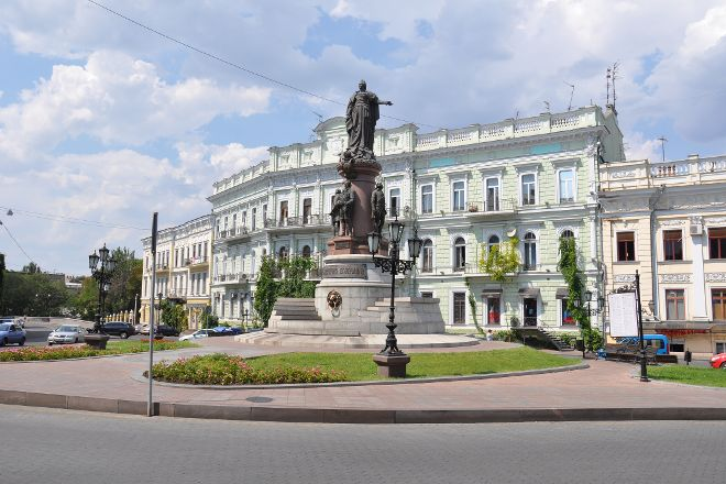 Monument to Catherine the Great and Founders of Odessa, Odessa, Ukraine
