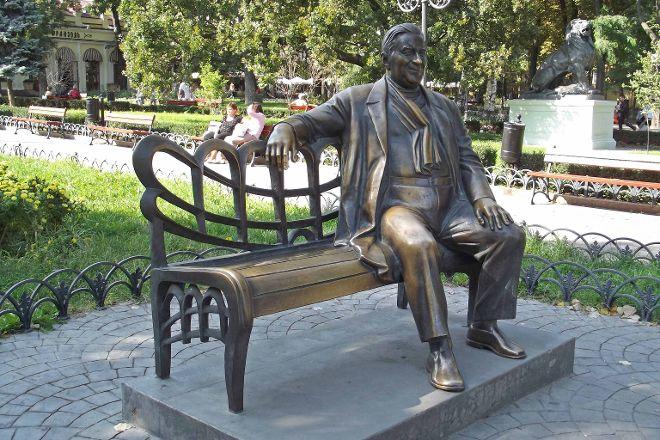 Monument to L. Utesov, Odessa, Ukraine