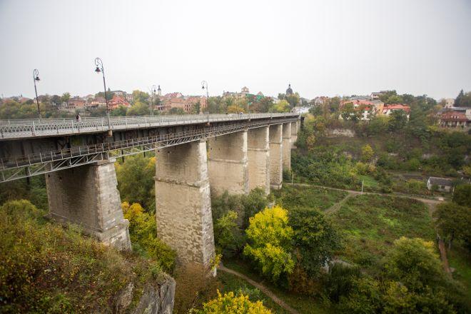 Novoplanivskiy Bridge, Kamianets-Podilskyi, Ukraine