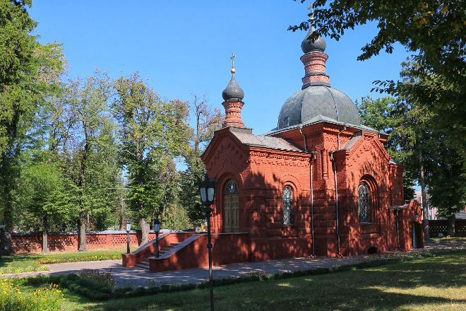 Pirogov's Masoleum - St.Nicolas Church, Vinnytsia, Ukraine