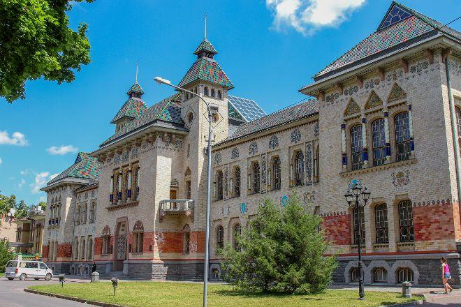 The Poltava Museum of Local Lore, Poltava, Ukraine