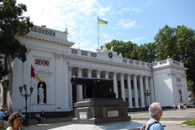 Primorsky Boulevard, Odessa, Ukraine