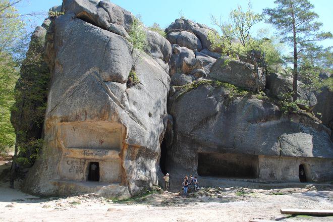 Rocks Dovbusha, Yaremche, Ukraine