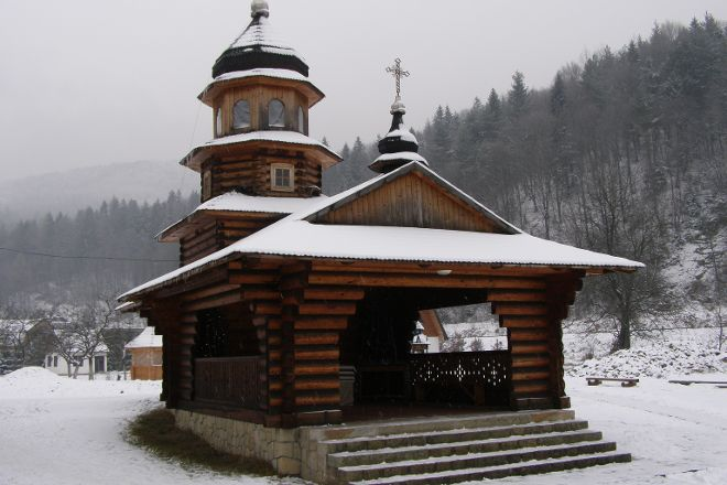 St Elias Wooden Church, Yaremche, Ukraine