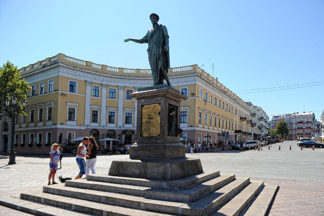 Statue of the Duc de Richelieu, Odessa, Ukraine