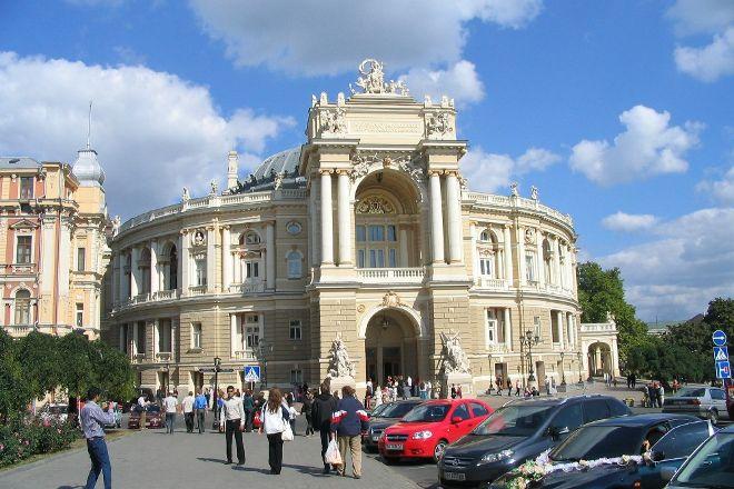 Teatralnaya Square, Odessa, Ukraine