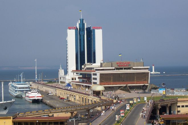 The Odessa Port, Odessa, Ukraine