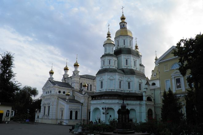 The Pokrovsky Cathedral, Kharkiv, Ukraine