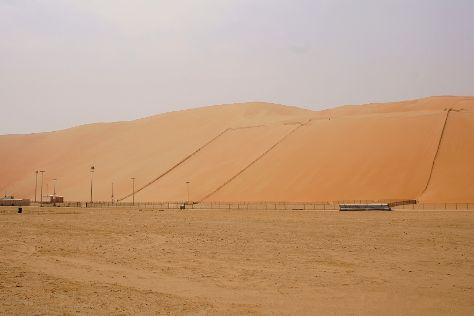 Moreeb Dune, Liwa Oasis, United Arab Emirates