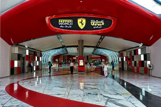 Ferrari World Abu Dhabi, Abu Dhabi, United Arab Emirates