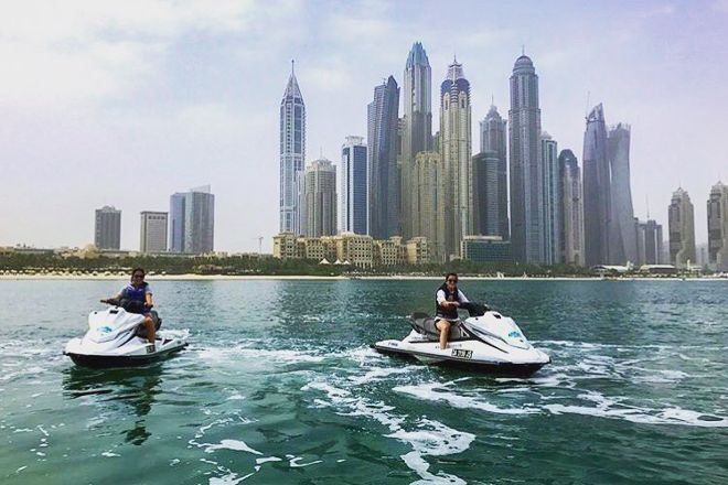 Ride in Dubai Watersports, Dubai, United Arab Emirates