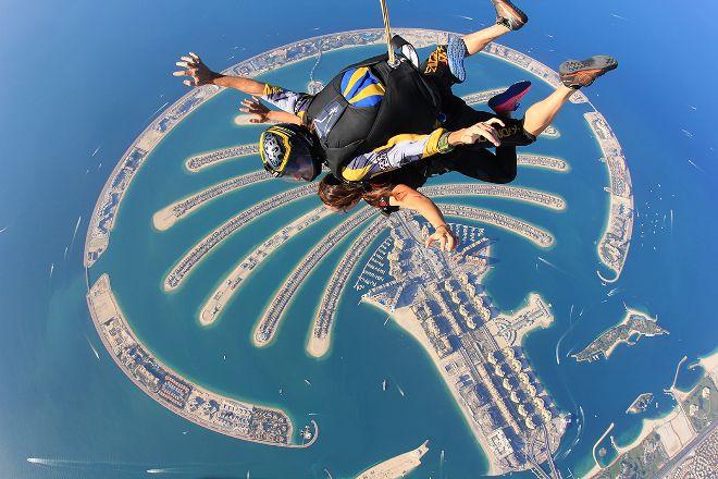 Palm DZ at Skydive Dubai, Dubai, United Arab Emirates