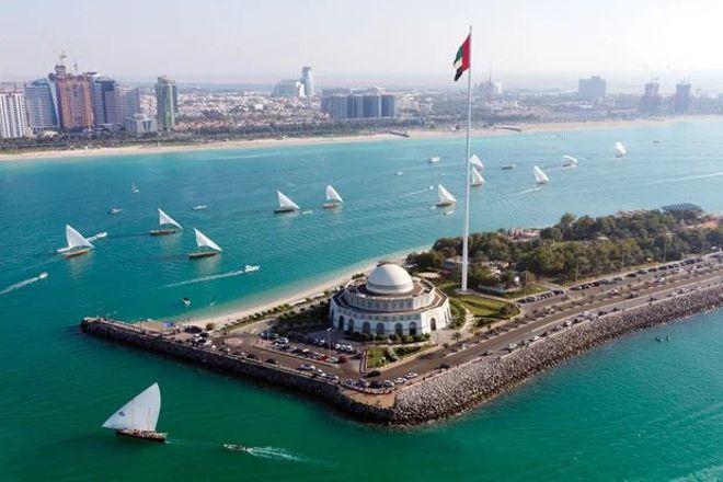 The Corniche, Abu Dhabi, United Arab Emirates
