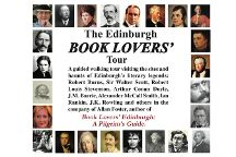 Edinburgh Book Lovers' Tour