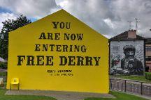 Free Derry Corner, Derry, United Kingdom