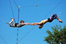 Gorilla Circus - Flying Trapeze School