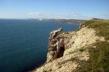 St Aldhelms Head - South West Coast Path walk, Worth Matravers, United Kingdom
