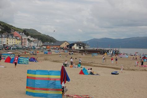 Aberdyfi Beach, Aberdyfi (Aberdovey), United Kingdom
