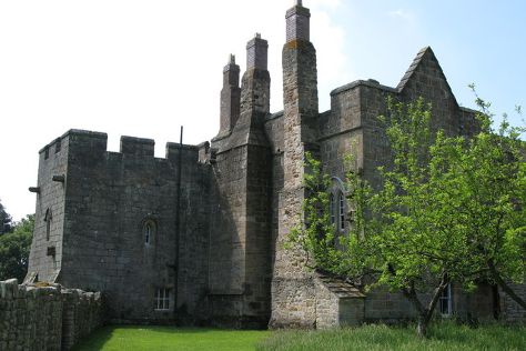 Aydon Castle, Corbridge, United Kingdom