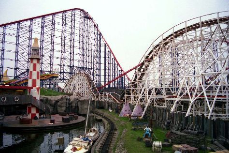 Blackpool Pleasure Beach, Blackpool, United Kingdom