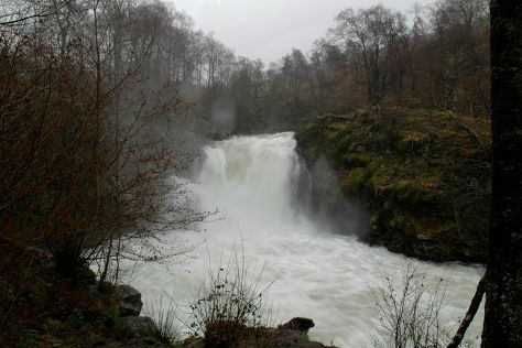 Falls of Falloch, Loch Lomond and The Trossachs National Park, United Kingdom