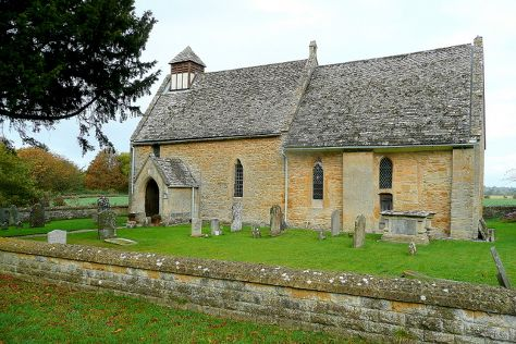 Hailes Church, Winchcombe, United Kingdom