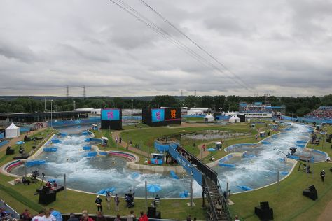 Lee Valley White Water Centre, Waltham Cross, United Kingdom