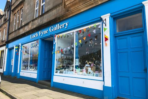 Loch Fyne Gallery, Tarbert, United Kingdom