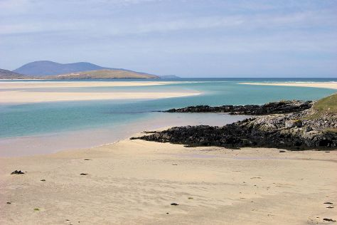 Luskentyre Beach, Isle of Harris, United Kingdom