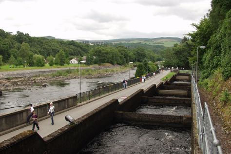 Pitlochry Dam Power Station And Fish Ladder, Pitlochry, United Kingdom