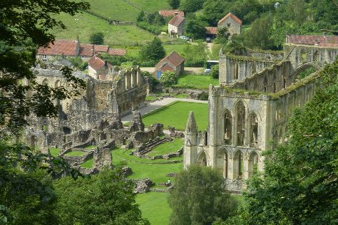 Rievaulx Abbey, Helmsley, United Kingdom
