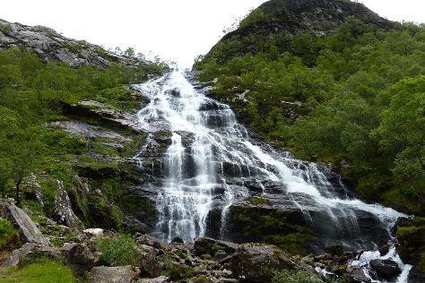 Steall Waterfall, Fort William, United Kingdom