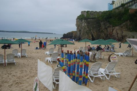 Tenby Castle Beach, Tenby, United Kingdom