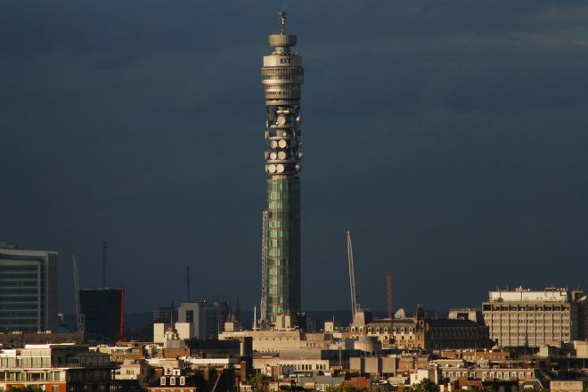 BT Tower (The British Telecom Tower), London, United Kingdom