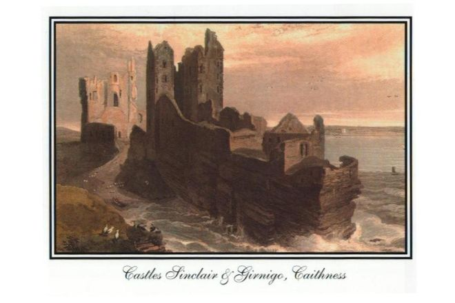 Castle Sinclair Girnigoe, Wick, United Kingdom