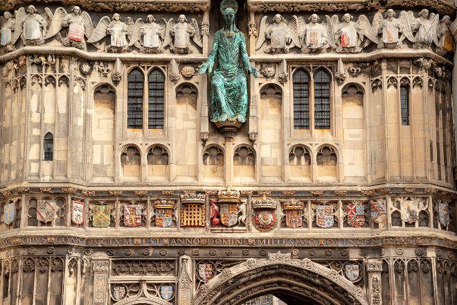 Christ Church Gate, Canterbury, United Kingdom