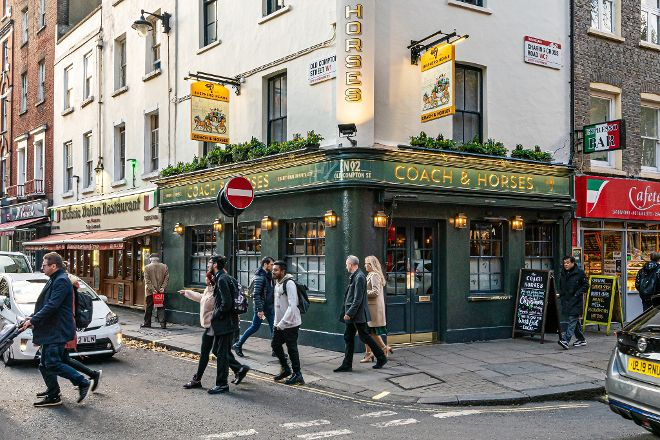 Coach & Horses Pub, London, United Kingdom