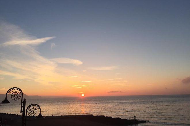 Cobb Beach, Lyme Regis, United Kingdom