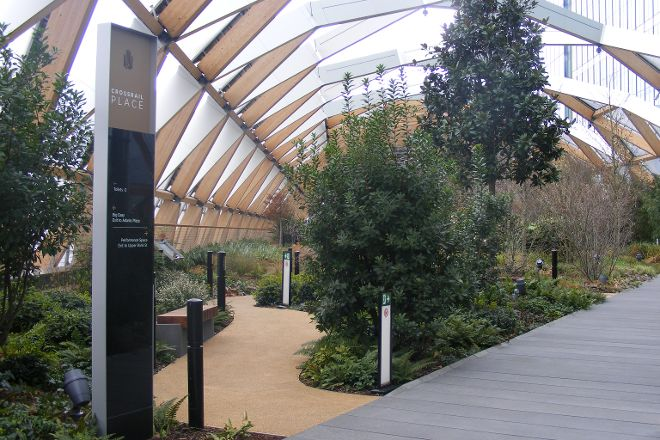Crossrail Place Roof Garden, London, United Kingdom