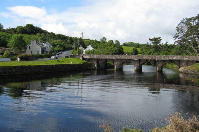 Cushendun Village, Ballymena, United Kingdom