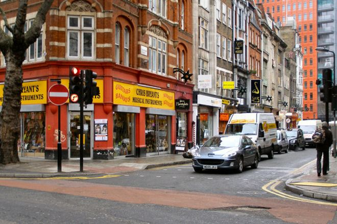 Denmark Street, London, United Kingdom