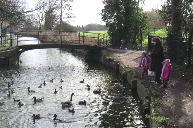 Enfield Town Park, Enfield, United Kingdom