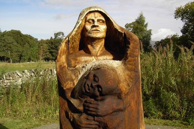 Frank Bruce Sculpture Trail, Kincraig, United Kingdom