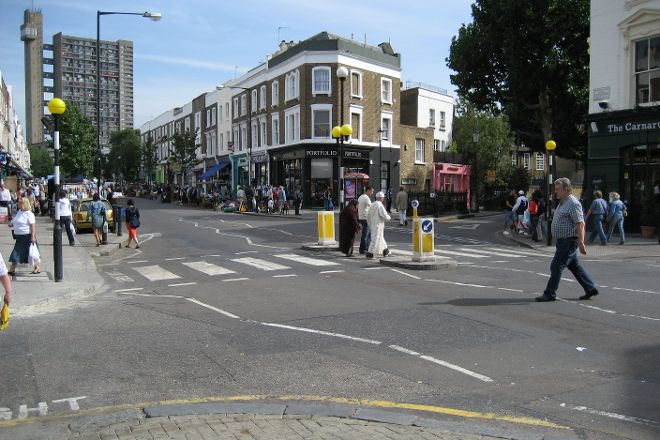 Golborne Road, London, United Kingdom
