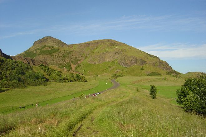Holyrood Park, Edinburgh, United Kingdom