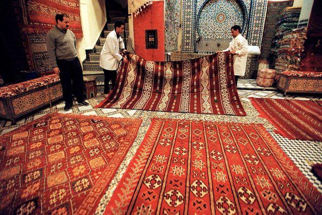 Moroccan Original Carpet, London, United Kingdom
